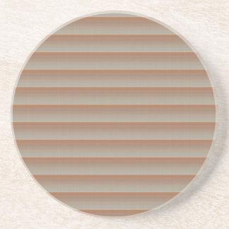 Fácil diy de la raya de la textura de la PLANTILLA Posavasos Personalizados