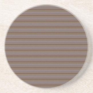 Fácil diy de la raya de la textura de la PLANTILLA Posavasos Diseño