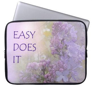 Fácil lo hace las lilas fundas ordendadores