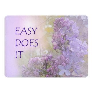 """Fácil lo hace las lilas invitación 6.5"""" x 8.75"""""""