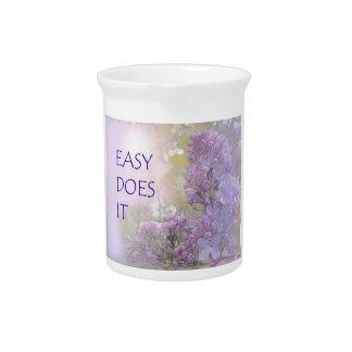 Fácil lo hace las lilas jarrones