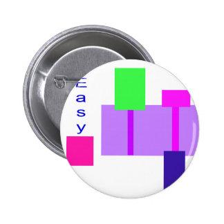 Fácil Pin Redondo 5 Cm