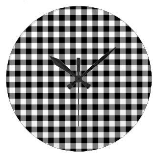 Fácil rápido el tranquilizar estupendo reloj redondo grande
