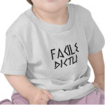 facile dictu t shirt