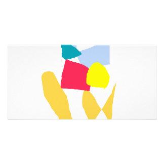 Facilidad suave de la balanza de agua del diapasón tarjetas fotograficas personalizadas