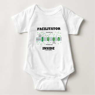 Facilitator Inside (Facilitated Diffusion) Baby Bodysuit