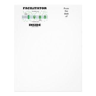 Facilitator Inside (Facilitated Diffusion) Letterhead