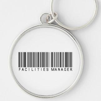 Facilities Manager Bar Code Keychain