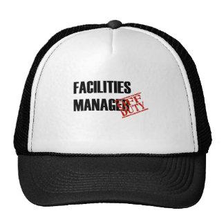 FACILITIES MANAGER LIGHT TRUCKER HAT