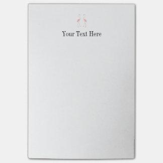 Facing Flamingos Post-it® Notes
