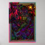 Facing Inner Demons Modern Male Art II Print