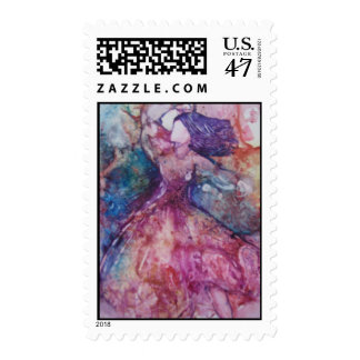 """Facing Ones Fears"" Postage Stamp"