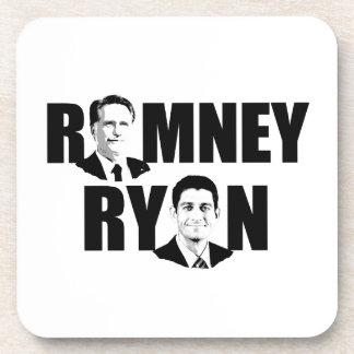 FACING ROMNEY RYAN png Coasters