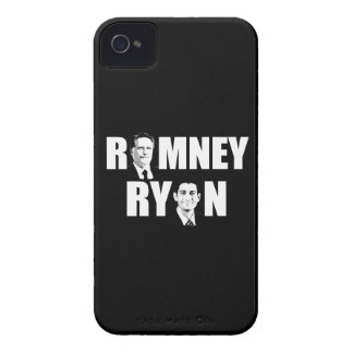 FACING ROMNEY RYAN WHITE.png iPhone 4 Case