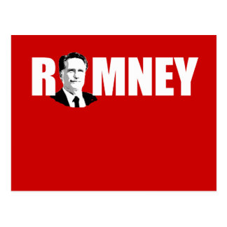 FACING ROMNEY WHITE png Postcards