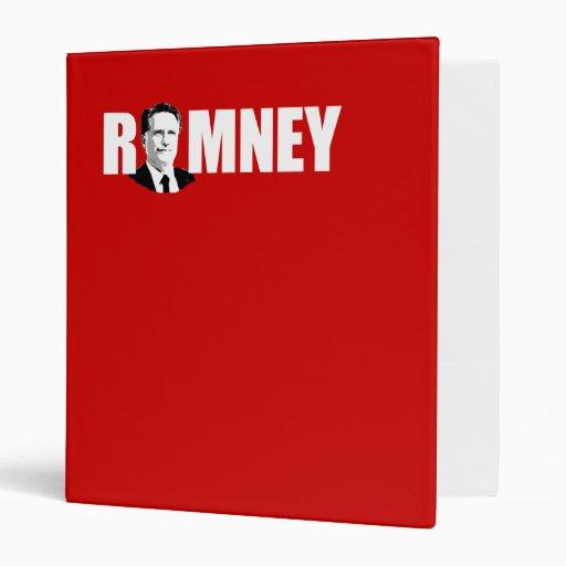 FACING ROMNEY WHITE.png Vinyl Binder