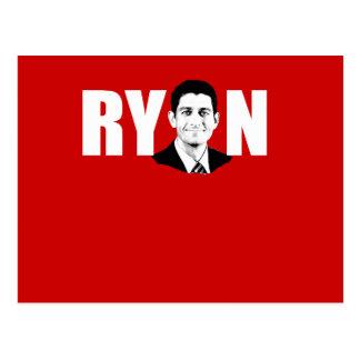 FACING RYAN WHITE png Post Card