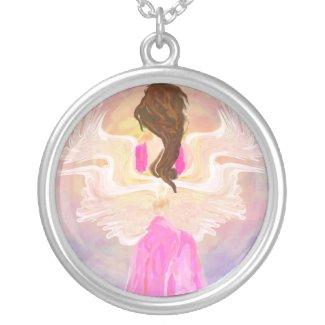 """Facing The Sun"" Angel Art"