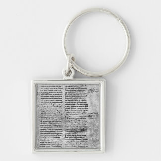 Facsimile copy keychain