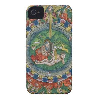 Facsimile copy of Genesis 2:22 God created Eve, fr iPhone 4 Case-Mate Case