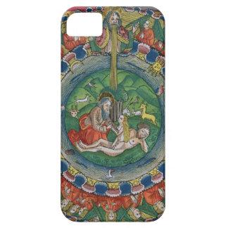 Facsimile copy of Genesis 2:22 God created Eve, fr iPhone SE/5/5s Case