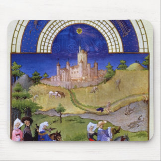 Facsimile of August: Hawking Mouse Pad