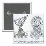 Facsimile of Copper Engravings Pinback Button