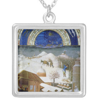 Facsimile of February Silver Plated Necklace