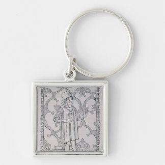 Facsimile of the frontispiece keychain