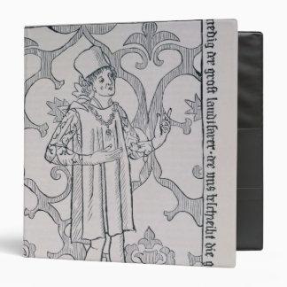 Facsimile of the frontispiece vinyl binders