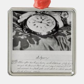 Facsimile of the Pocket Chronometer Metal Ornament