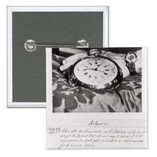 Facsimile of the Pocket Chronometer Pinback Button