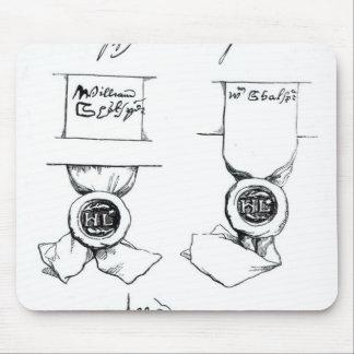 Facsimiles of William Shakespeare's signature Mouse Pad