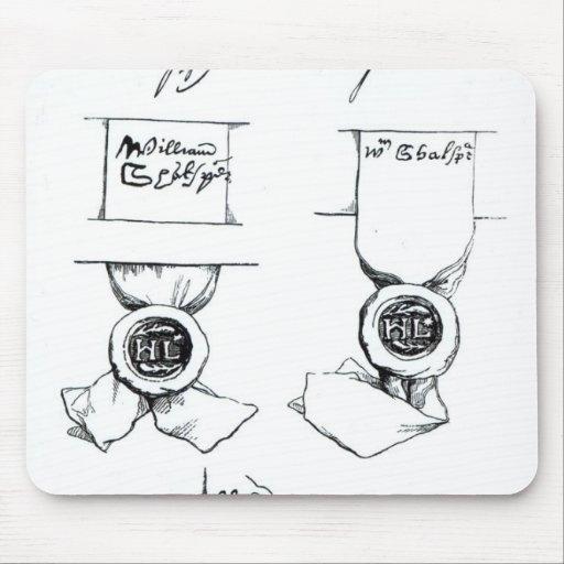 Facsimiles of William Shakespeare's signature Mousepads
