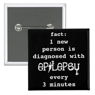fact: 1 every 3 minutes pinback button