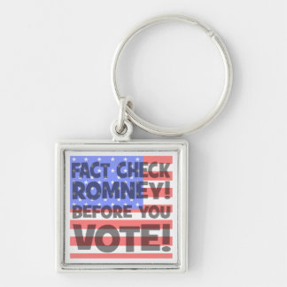 fact check Mitt Romney Keychain