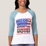 fact check Santorum Tshirts