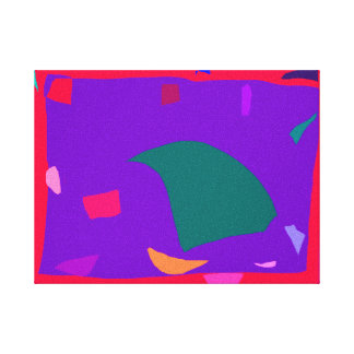 Fact Excavation Research Endless Rain Frog Gallery Wrapped Canvas