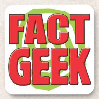 Fact Geek Beverage Coaster