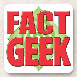 Fact Geek v2 Coaster