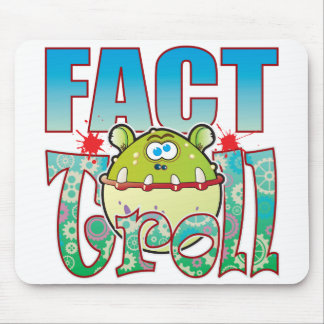 Fact Troll Mouse Pad