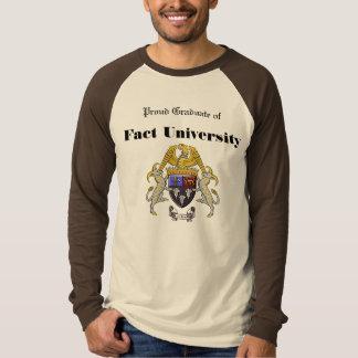 Fact University Tee Shirt