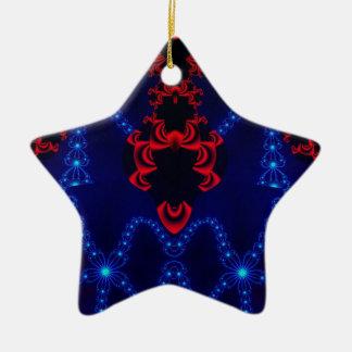 Factal 248 ceramic ornament