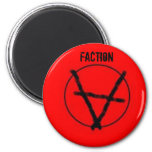 Faction Anarchy Magnet