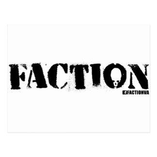 FACTION VA POSTCARD