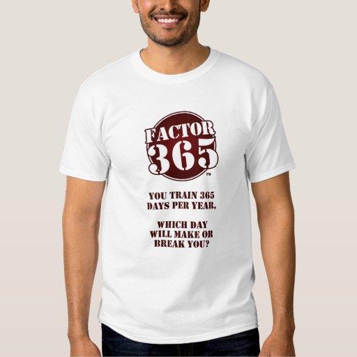 Factor 365 t-shirts