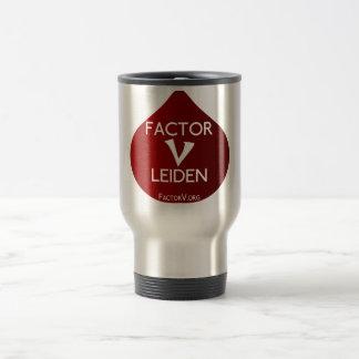 Factor V Leiden Awareness Travel Mug