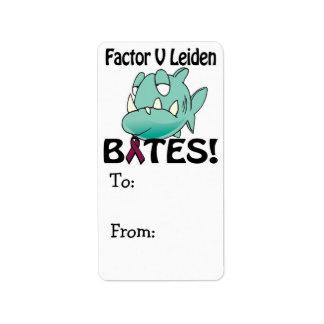 Factor V Leiden BITES Label
