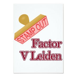 Factor V Leiden Card