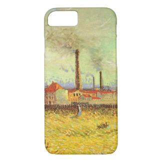 Factories at Asnieres by Vincent van Gogh iPhone 8/7 Case